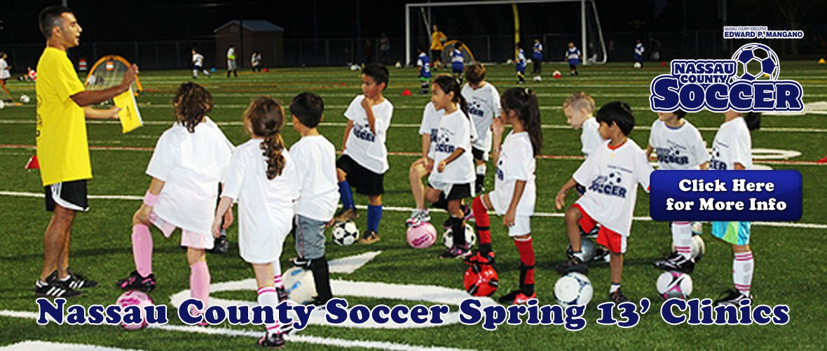 Nassau County Youth Spring Soccer Clinic