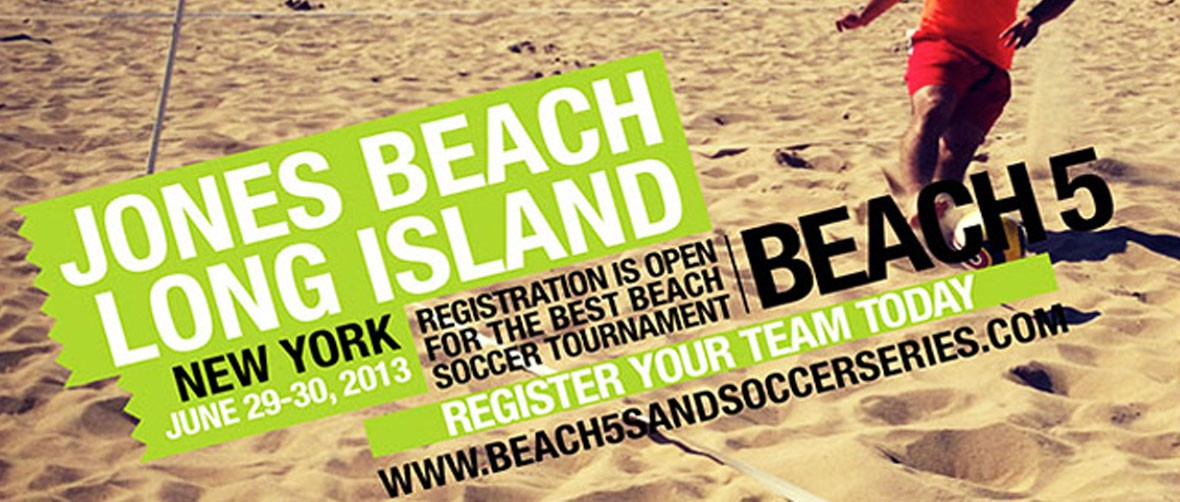 Beach 5 Sand Soccer Tournament