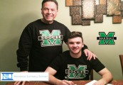 Marshall University National Letter of Intent for University Placement on andgo sports
