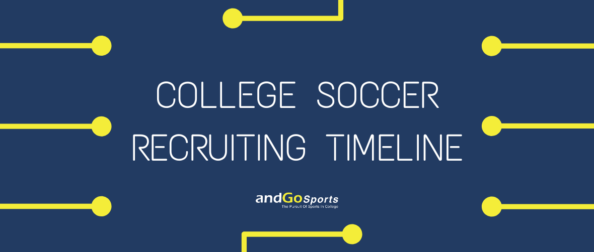 College Soccer Recruting Timeline Image