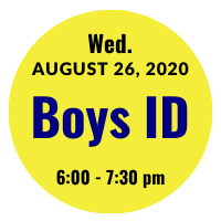 Boys AGS College ID Session Icon August 26, 2020 6 pm