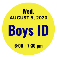 Boys AGS College ID Session Icon August 5, 2020 6 pm